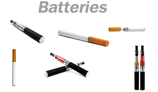 batteries e-cig