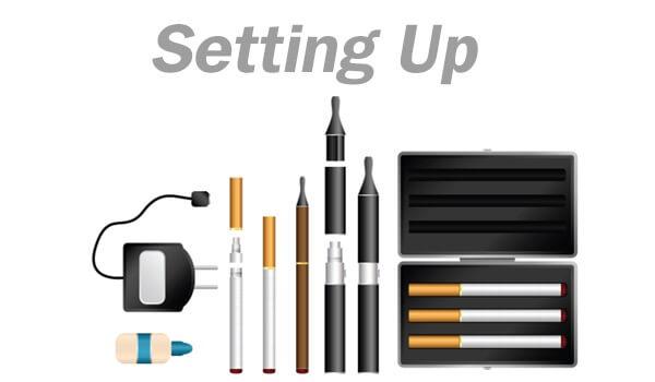 Electronic shisha cigarette safety