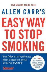allen carr stop smoking book