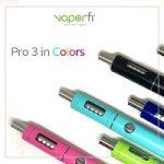 VaporFi Pro 3 in Colors