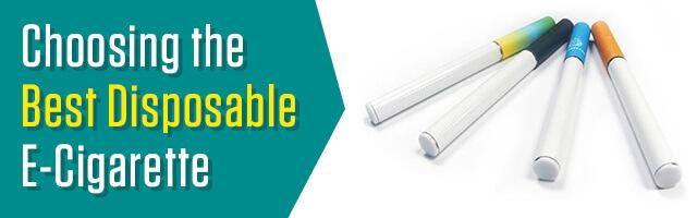 Best Disposable E-Cigarette
