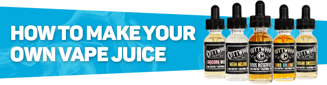 Making your Own Vape Juice