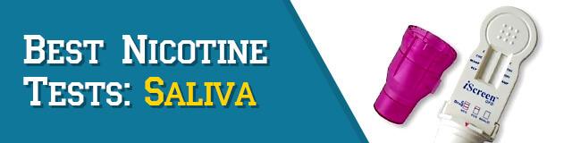 Saliva Nicotine Tests