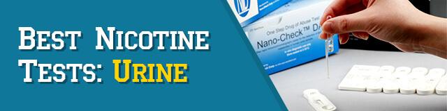 Urine Nicotine Tests