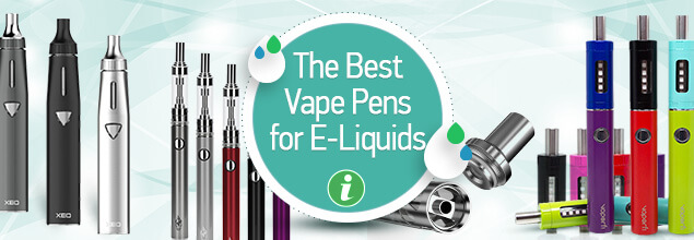 The Best Vaporizer Pens to Use With E-Liquids