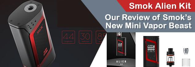 Smok Alien Kit – Our Review of Smok's New Mini Vapor Beast