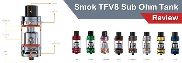Smok TFV8 Sub Ohm Tank